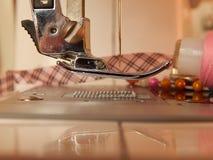 Macchina per cucire Immagini Stock