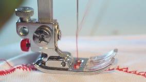 Macchina per cucire stock footage