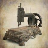 Macchina per cucire antica Fotografia Stock