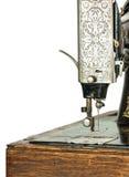Macchina per cucire decorata antica Immagini Stock