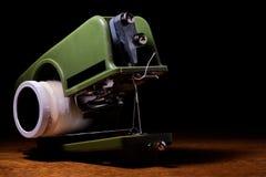 Macchina per cucire della mano fotografia stock