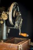 Macchina per cucire retro Fotografia Stock