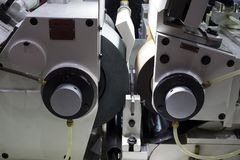 macchina stridente centerless di CNC di alta precisione Fotografie Stock