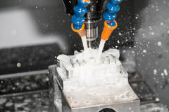 Macchina utensile di CNC Fotografia Stock Libera da Diritti