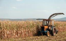 Macchinario agricolo, lavoro nel campo. Immagine Stock Libera da Diritti