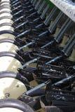 Macchinario agricolo per un trattore agricolo Immagine Stock Libera da Diritti
