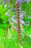 Macchinario del cortile Fotografia Stock