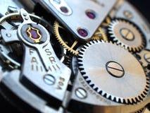 Macchinario dell'orologio Immagine Stock