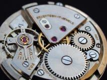 Macchinario dell'orologio Fotografie Stock