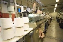 Macchinario della tessile fotografie stock libere da diritti