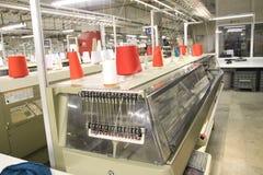 Macchinario della tessile Fotografia Stock