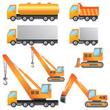 Macchinario di costruzione. Fotografia Stock
