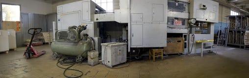 Macchinario industriale Fotografie Stock