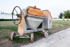 Macchinario industriale del miscelatore di cemento Fotografia Stock