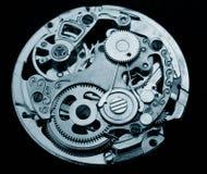 Macchinario meccanico dell'orologio Fotografia Stock