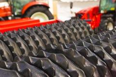 Macchinario per un trattore agricolo Immagini Stock Libere da Diritti