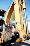 Macchinario pesante: Braccio dell'escavatore Fotografia Stock Libera da Diritti