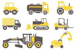 Macchine della costruzione Fotografie Stock