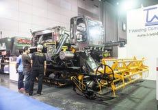 Macchine dello spruzzo dei trattori Fotografie Stock Libere da Diritti
