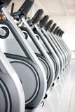 Macchine di forma fisica Fotografia Stock Libera da Diritti
