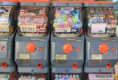 Macchine di Gashapon Fotografia Stock