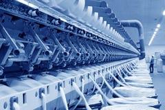 Macchine ed impianti di filatura della pianta Immagini Stock