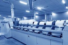 Macchine ed impianti di filatura della pianta Immagine Stock Libera da Diritti