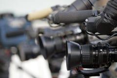 Macchine fotografiche fotografia stock