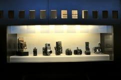 Macchine fotografiche antiche Fotografia Stock