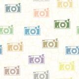 Macchine fotografiche a colori Immagine Stock Libera da Diritti