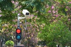 Macchine fotografiche del CCTV Fotografie Stock Libere da Diritti