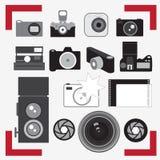 Macchine fotografiche della foto Fotografia Stock
