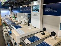 macchine fotografiche della Smart-casa e dispositivi di sorveglianza Fotografia Stock Libera da Diritti