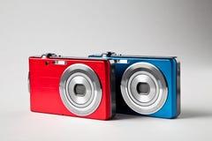 Macchine fotografiche di Digitahi. Fotografie Stock