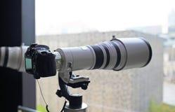 Macchine fotografiche di SLR Immagine Stock Libera da Diritti