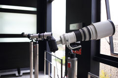 Macchine fotografiche di SLR Immagine Stock
