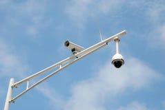 Macchine fotografiche di traffico Fotografia Stock Libera da Diritti