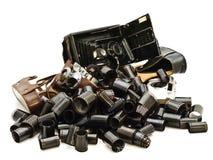 Macchine fotografiche e pellicole Immagine Stock Libera da Diritti