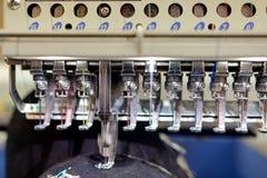 Macchine per cucire Fotografia Stock