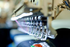 Macchine per cucire Immagine Stock
