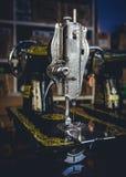 Macchine per cucire d'annata Immagini Stock
