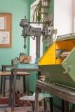 Macchine per il lavoro con il legno immagini stock libere da diritti