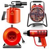 Macchine utensili del termale di vettore Fotografie Stock