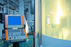 Macchine utensili di CNC Immagini Stock