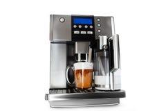Macchinetta del caffè automatica con la tazza di caffè Fotografie Stock