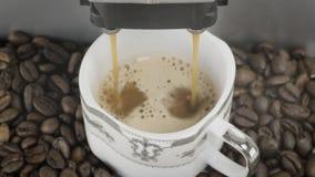 Macchinetta del caffè del caffè espresso Fotografia Stock Libera da Diritti