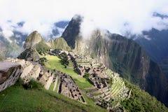 macchu秘鲁picchu 免版税库存照片