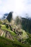 macchu秘鲁picchu 库存图片