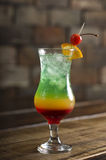 Macchu picchu cocktail royalty free stock image
