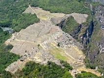 ¹ Macchu Picchu de Perà Imagen de archivo